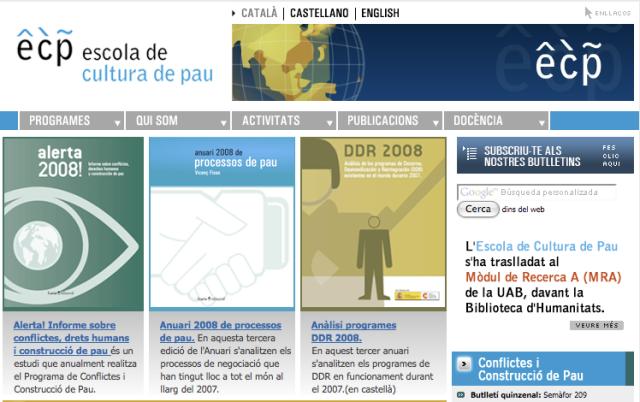 Escola de cultura de pau (Unesco Catalunya)