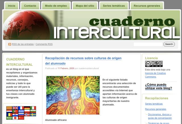 Cuaderno intercultural